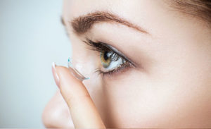 EE Services contact lens fitting 1